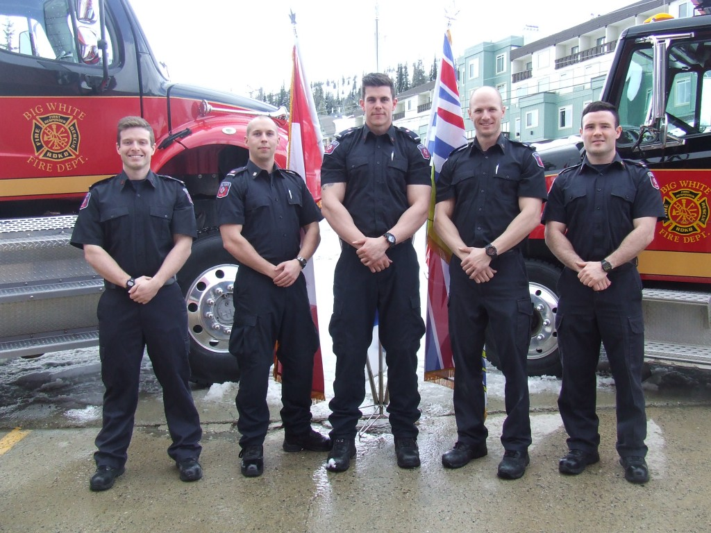 WEP 13 L-R Dan MacDonald – Grand Bend Ontario Mitchell Kinahan – Trail BC Dave Hutchinson, Hired by Toronto Fire Rescue Leigh Lacroix, Ottawa Ontario Darcy Myers, Markham Ontario