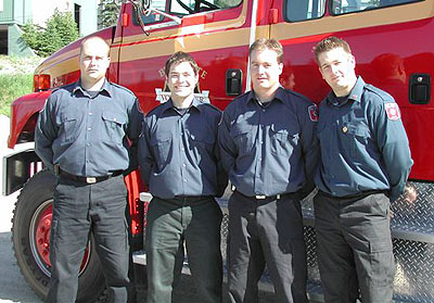 WEP #1 Mike Holliday – Hired at Prince George Fire Rescue Bill Smibert – Hired at Edmonton Fire Rescue Rob Trevelyan – Hired at Prince George Fire Rescue