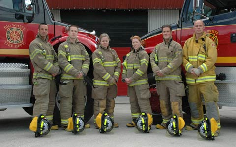 WEP #10 L-R Chris Day, Thomas Whyard Danielle Alosinac – Hired by Toronto Fire Rescue, Carmen Sonnenburg – Hired by Vancouver (FRS) Trevor Thorburn – Hired by Vancouver FRS, Ryan Bice – Hired by Medicine Hat Fire Rescue