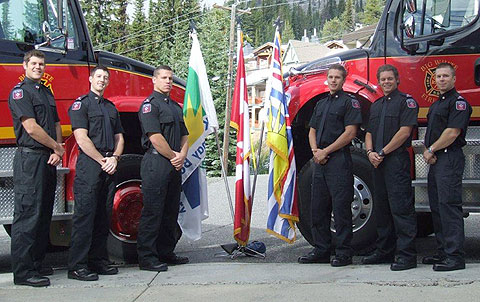 WEP #11 L-R: Matt O'Connor, Jake Allen, Burlington, Ontario Matthew Hilton, Victoria BC Andrew Caprio, Hired by Toronto Fire Rescue, Kyle Grim, Woodstock Ontario Steven Mercier, Hired by Delta Fire & Emergency Services
