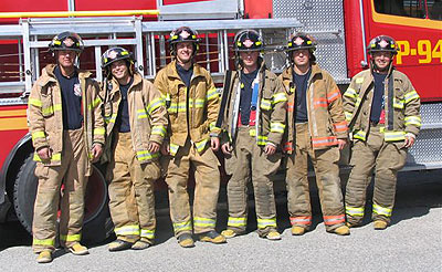 WEP #4 Geoff Allen – Hired by Niagra Falls Fire Department Dan Coledi – Hired by Calgary Fire Department Steve Conkin – Hired by Port Coquitlam Fire Department Brock Pinder – Hired by Calgary Fire Department