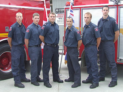 WEP #6 Dan McKenna – Hired by Ottawa Fire Department James Siddall – Hired by Toronto Fire Department Shahram Parsi – Hired by Toronto Fire Department Adam Winn - Hired by Fort St. John Fire Deptment Brent Edwards - Hired by Fredericton Fire Department Andrew Stauth - Hired by Oakville Fire Department