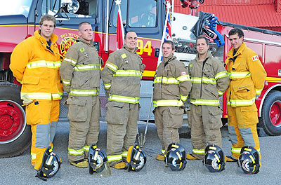 WEP #7 Will Kuechler – Hired by Vancouver Fire Department Jeff Bartlett – Hired by Vancouver Fire Department David Flanagan – Hired by Calgary Fire Department Ryan McConnell – Hired by Vancouver Fire Department Matt Pottle – Hired by Orillia Fire Department Ryan Woods – Hired by London Fire Department